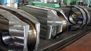 Large Marine Crankshaft Forgings